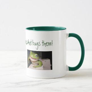 Mug Les grenouilles sont chanceuses…