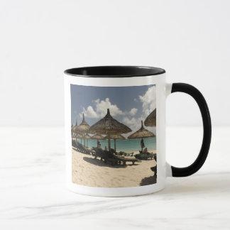 Mug Les Îles Maurice, courrier de Flacq. Scène de