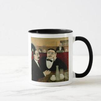 Mug Les intellectuels au café Rotonde, 1916