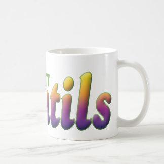 Mug Les lentilles, mangent