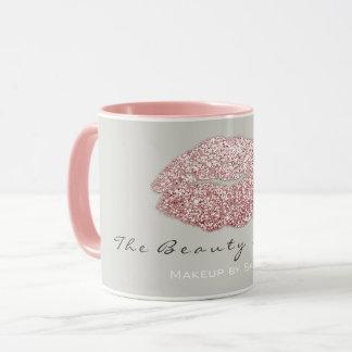 Mug Les lèvres de baiser de beauté de maquilleur