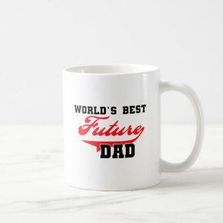 Mug Les meilleurs futurs T-shirts et cadeaux du papa