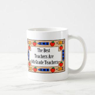 Mug Les meilleurs professeurs sont les 6èmes