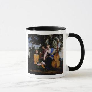 Mug Les Muses Melpomene, Erato et Polymnia, 1652-55