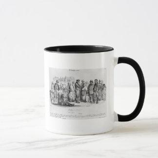 Mug Les personnes émancipées, de la 'La Caricature