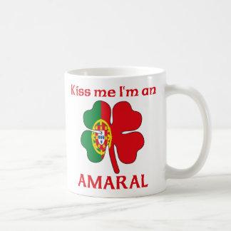 Mug Les Portugais personnalisés m'embrassent que je