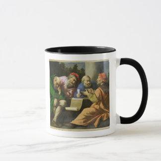 Mug Les quatre pères de l'église (huile sur la toile