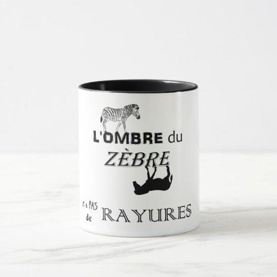 Mug Les rayures du zèbre