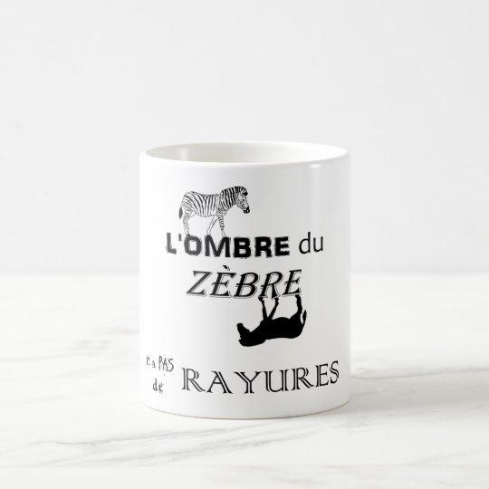 Mug Les rayures du zèbre - simple