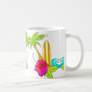 Mug Les ressacs lèvent le vibraphone tropical