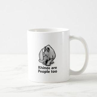 Mug Les rhinocéros sont les gens aussi