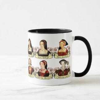 Mug Les six épouses du classique de Henry VIII
