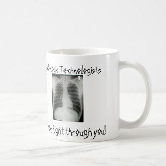 Mug Les technologues radiologiques voient juste par