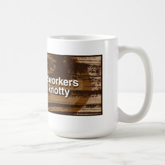 Mug les travailleurs du bois sont inextricables -