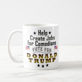 Mug Les travaux drôles de Donald Trump pour des