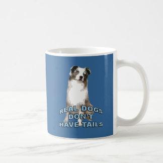 Mug Les vrais chiens n'ont pas des queues