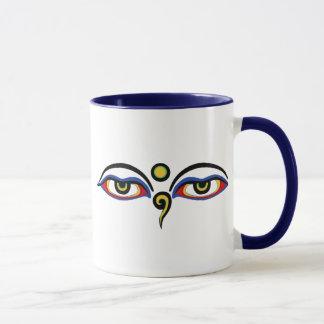Mug Les yeux de Bouddha