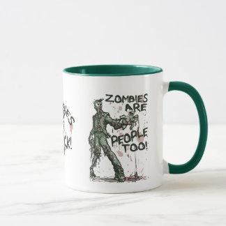Mug Les zombis sont vitesse de personnes trop