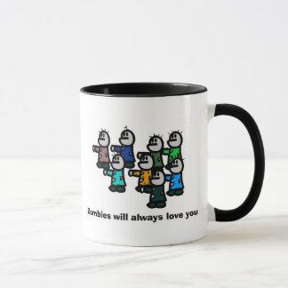Mug Les zombis vous aimeront toujours