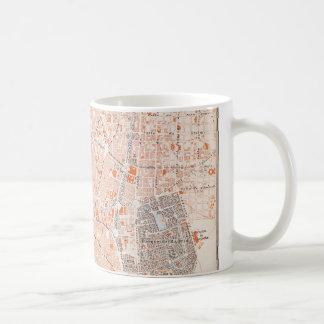 Mug L'Espagne : Carte de Madrid, C1920