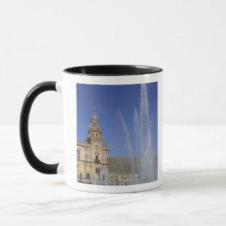 Mug L'Espagne, Séville, la fontaine d'Andalousie et