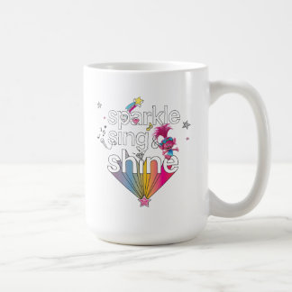 Mug L'étincelle du pavot des trolls | chantent et