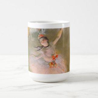 Mug L'étoile (danseur sur l'étape) par Edgar Degas