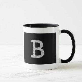 Mug Lettre B de monogramme