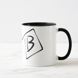 Mug Lettre B par Pablo A. Cuadra