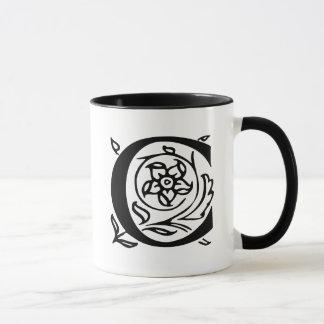 Mug Lettre de fantaisie C