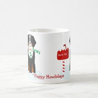 Mug Lettre faite sur commande de chien de Bernese Mt