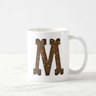 Mug lettre M