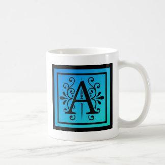 Mug Lettre stylisée A