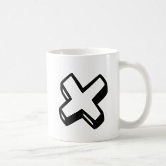 Mug Lettre X