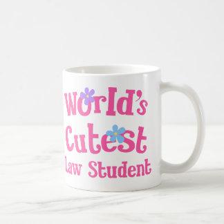 Mug L'étudiant en droit le plus mignon des mondes