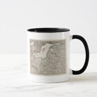 Mug L'Europe de l'Est, Russie, Suède