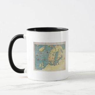 Mug L'Europe du Nord