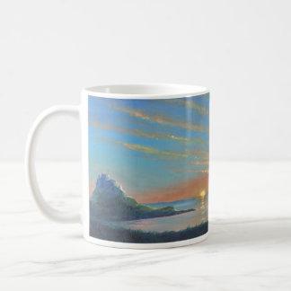 Mug Lever de soleil de château de Lindisfarne