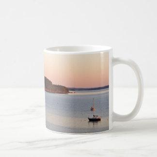 Mug Lever de soleil sur le port