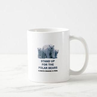 Mug Levez-vous pour les ours blancs