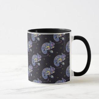 Mug Lézard de Zentangle