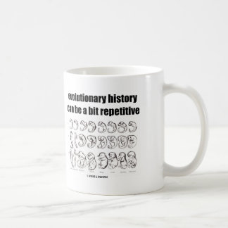Mug l'histoire évolutionnaire peut être un peu