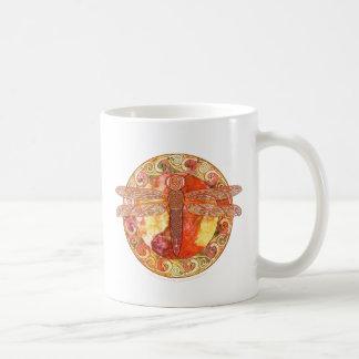 Mug Libellule celtique chaude