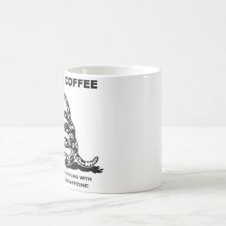Mug Liberté et caféine
