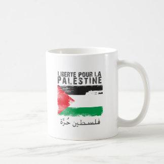 Mug Liberté versent la La Palestine (le hurra de