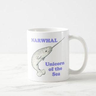 Mug Licorne de Narwhal de la mer
