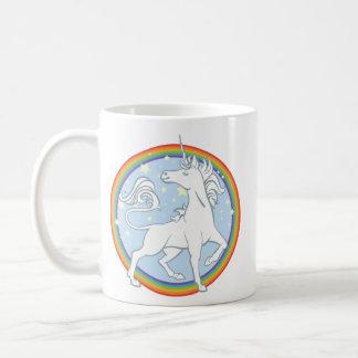 Mug Licorne majestueuse d'arc-en-ciel d'étincelle