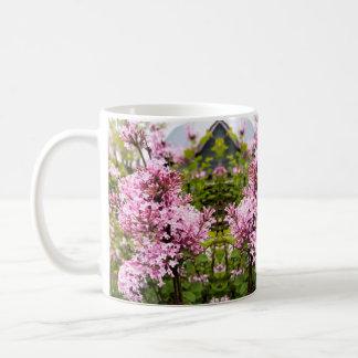 Mug Lilas roses de Josee en fleur