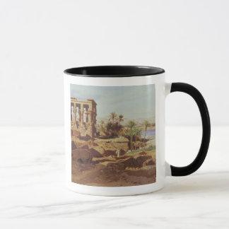 Mug L'île de Philae, 1866 (la semaine)