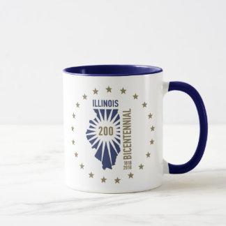 Mug L'Illinois 1818-2018 bicentenaire